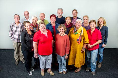 Gruppenbild Prebyter 2016